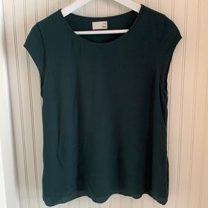Wilfred Free Green Short sleeve top